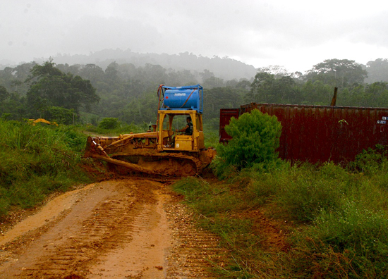 Access Road Preparation